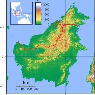 800px borneo topography
