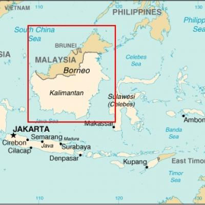 Id map borneo